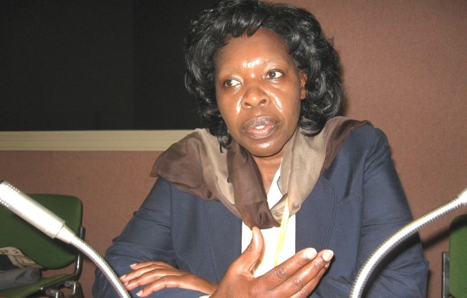 UNFPA Deputy Regional Director for West and Central Africa, Beatrice Mutali.
